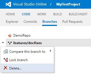 Branch Delete - Visual Studio Marketplace